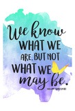What We Are Prints by Jace Grey