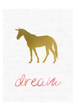 Unicorn Dreaming 1 Print by Kimberly Allen