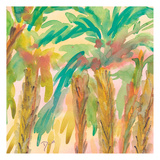 Sunset Palms 2 Posters by Beverly Dyer