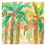 Sunset Palms 1 Art by Beverly Dyer