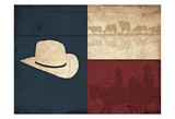 Texas Hat Prints by Jace Grey