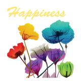 Floral Pop Happines Prints by Albert Koetsier