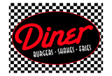 Diner Posters by Jace Grey