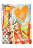 I Love Ny Art by Jace Grey