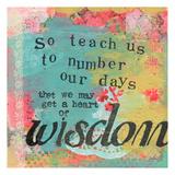 So Teach Us Posters by Cherie Burbach