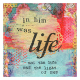 My Faith In Him Was Life Prints by Cherie Burbach