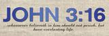John 316 Prints by Lauren Gibbons
