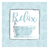 Relaxing Bath With Shells Poster by Jace Grey
