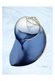 Marble Indigo Snail 2 Posters by Albert Koetsier