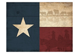 Texas Flag Prints by Jace Grey