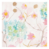 Soft Blooms I Prints by Beverly Dyer