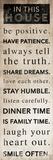 Be Positive Poster av Jace Grey