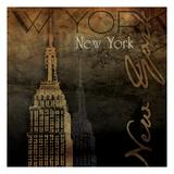 NY NY NY Posters by Jace Grey