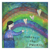 Embrace The Promise 1 Art by Cherie Burbach