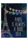 Paris is Always Posters by Kimberly Allen