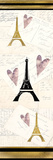 Paris Love Posters by Kimberly Allen