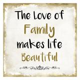 The Love Of Family Prints by Kimberly Allen