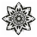Yang Mandala Print by Pam Varacek