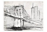Brooklyn Sketch Art by OnRei OnRei