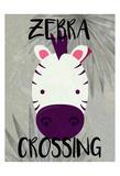 Zebra Crossing Prints by Kimberly Allen
