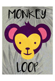 Monkey Loop Posters by Kimberly Allen