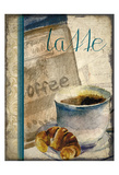 Cafe Latte 2 Prints by Kimberly Allen