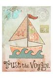 Vintage Sea 1 Art by Melody Hogan