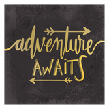 Adventure Awaits 1 Arte por Kimberly Allen