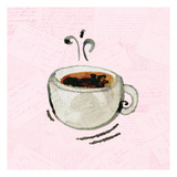 Coffee Time 1 Posters by Kimberly Allen