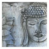 Stone Buddha Posters by Pam Varacek