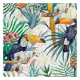 Tropical Life 1 Prints by Kimberly Allen