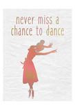 Dance B Poster by Kimberly Allen