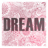 Pink Dream Prints by Kimberly Allen