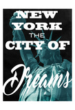 City Of Dreams Poster by Marcus Prime