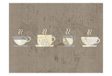Postcard Coffee 2 Prints by Kimberly Allen