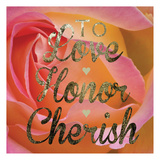 Cherished Love Poster by Melody Hogan