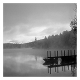 On The Dock bw Prints by Lisa Colberg