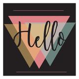 Bonjour Posters par Jelena Matic