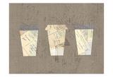 Postcard Coffee 4 Art by Kimberly Allen