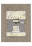 Postcard Coffee 3 Posters by Kimberly Allen