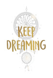 Keep Dreaming 1 Print by Kimberly Allen