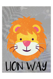 Lion Way Prints by Kimberly Allen