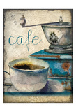 Cafe Latte 1 Posters by Kimberly Allen