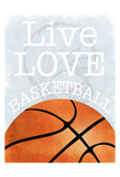 Basketball Love Posters by Marcus Prime
