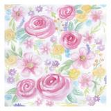 Stream Of Roses Poster by Pam Varacek
