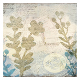 Botanical Postale 2 Posters by Kimberly Allen
