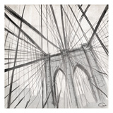 Brooklyn Bridge Close Up Prints by OnRei OnRei