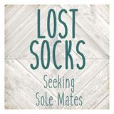 Lost Socks Art by Kimberly Allen