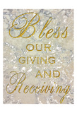 Bless Our Giving Prints by Sheldon Lewis