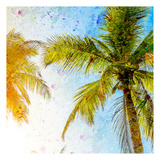 Bright Palm 2 Print by Kimberly Allen